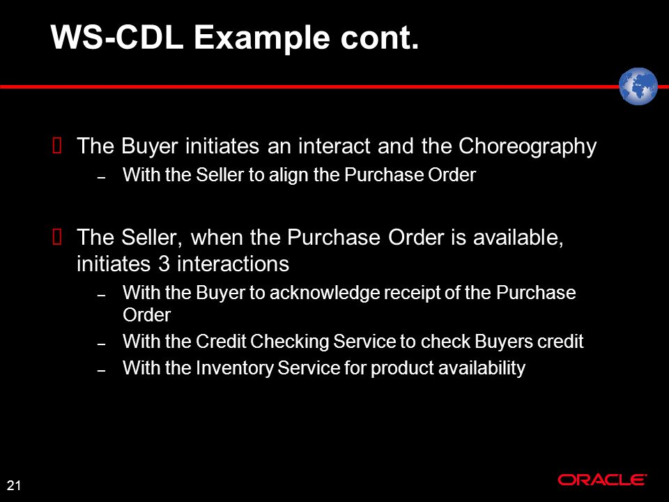 21 WS-CDL Example cont.