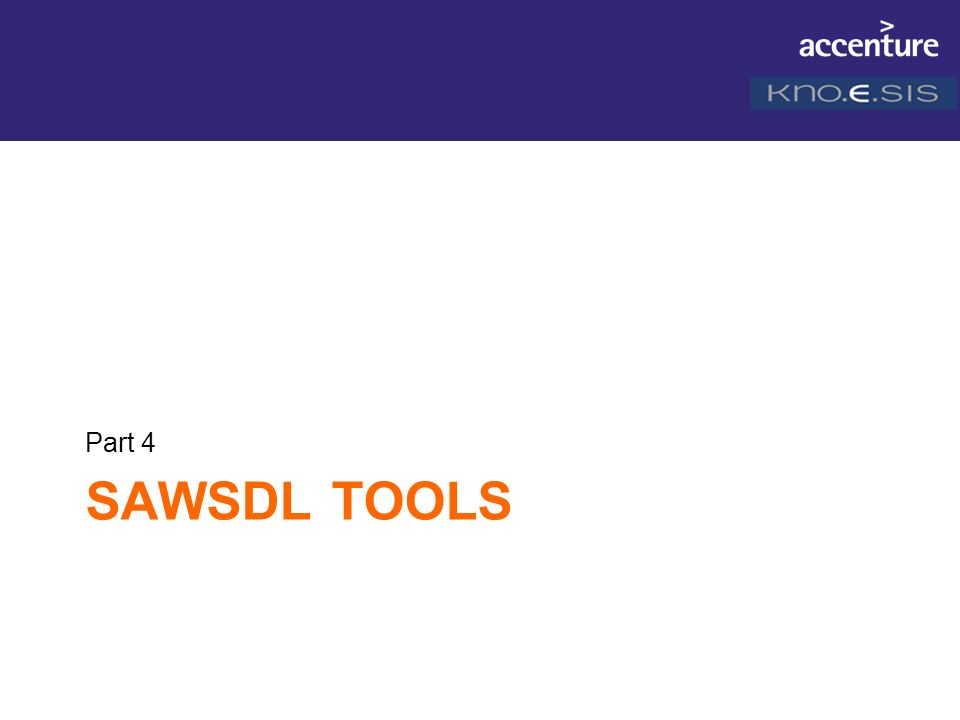SAWSDL TOOLS Part 4
