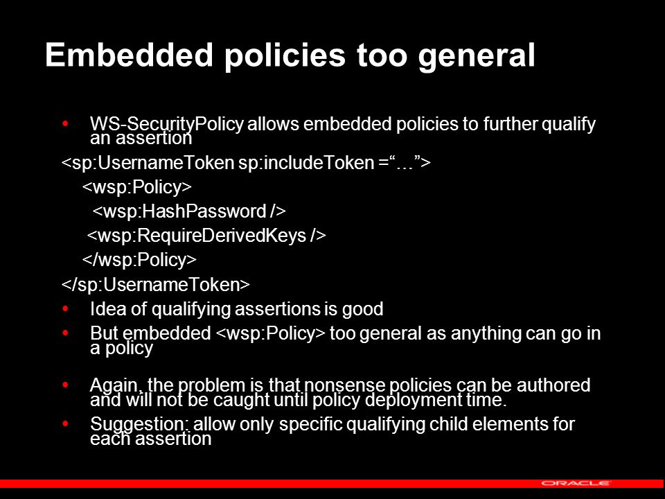 What Policy Does a Message Follow.How do we figure out what policies a message adheres to.