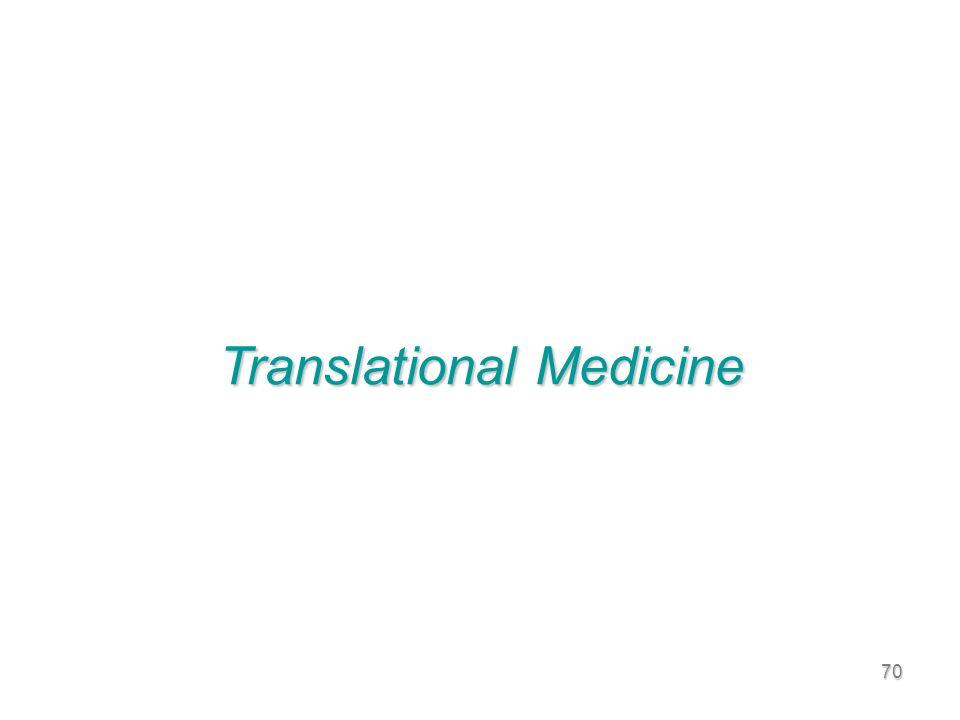 70 Translational Medicine