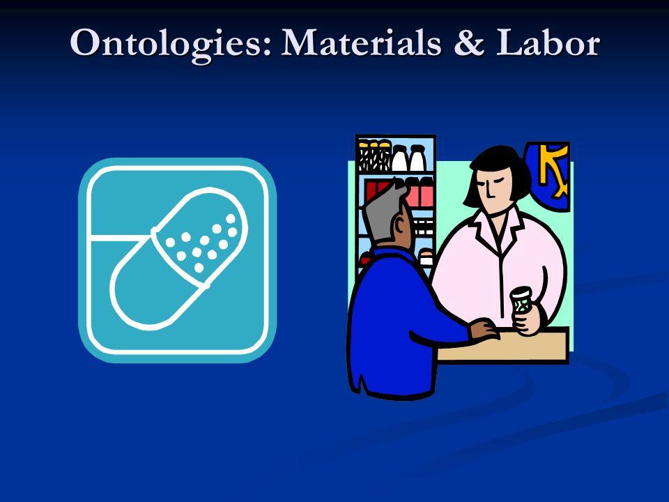 Ontologies: Materials & Labor
