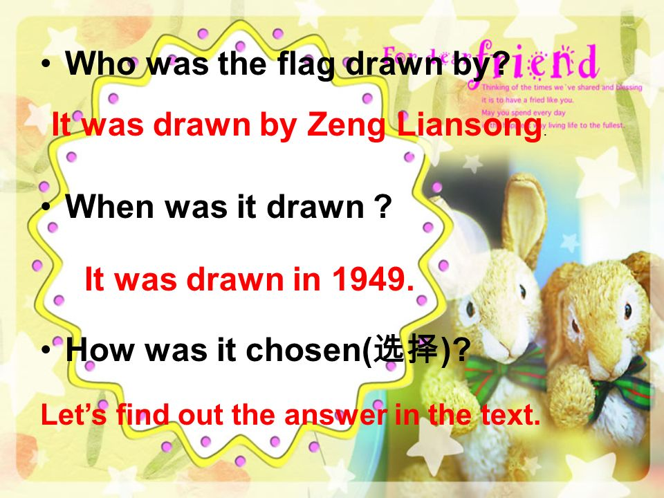 Who was the flag drawn by. When was it drawn . How was it chosen( ).