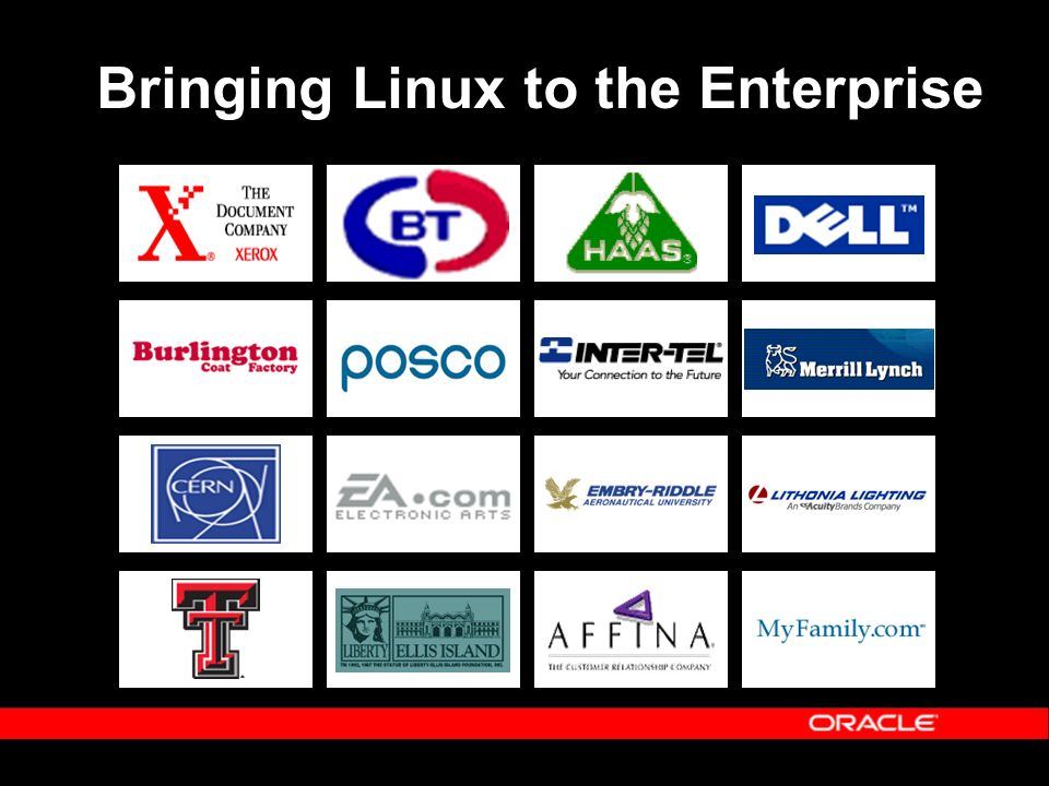 Bringing Linux to the Enterprise