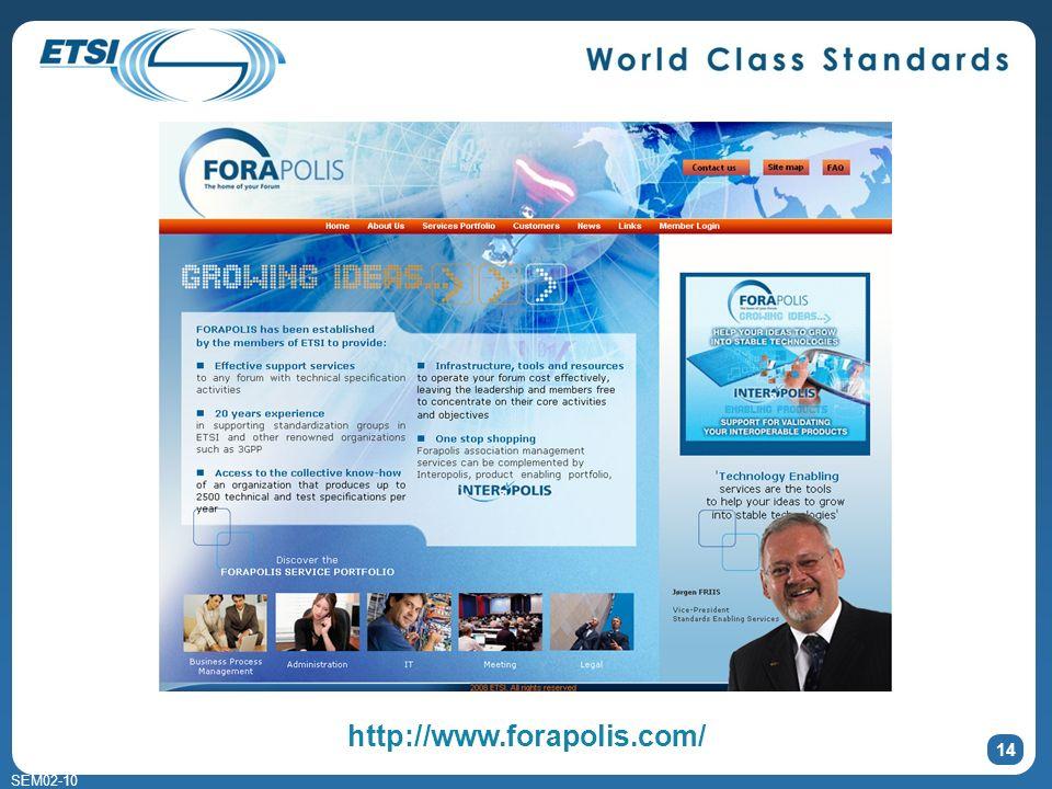 SEM02-10 14 http://www.forapolis.com/