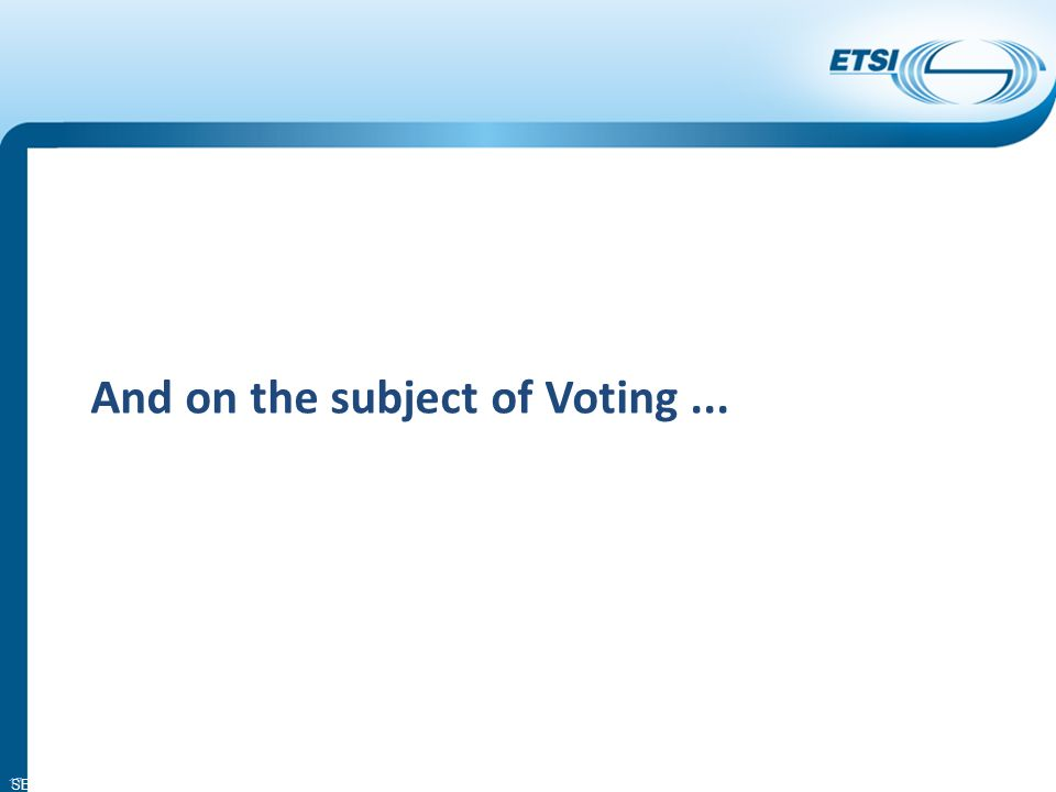 SEM11-08 And on the subject of Voting... 17
