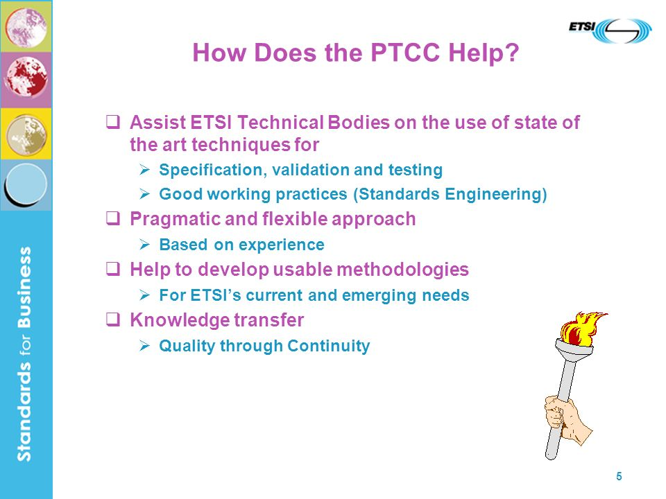 5 How Does the PTCC Help.