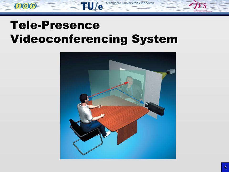 4 Tele-Presence Videoconferencing System