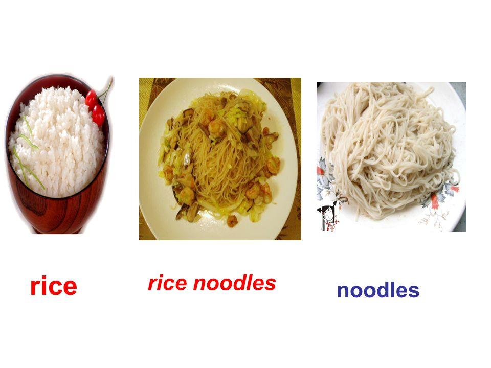 rice noodles rice noodles