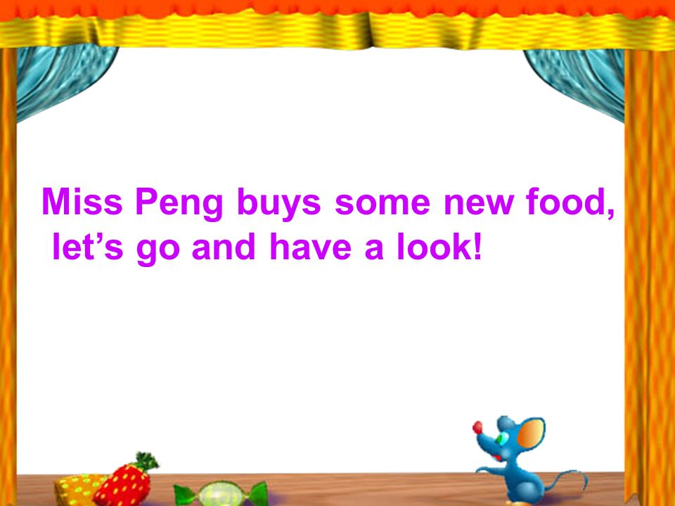 Miss Peng buys some new food, lets go and have a look!