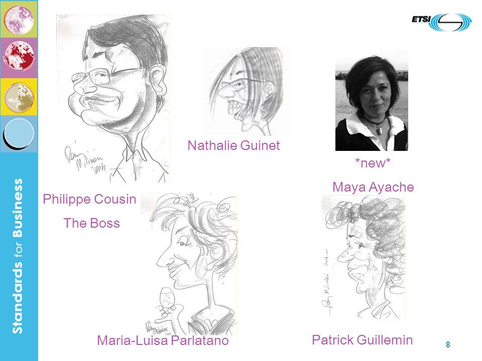 8 Philippe Cousin The Boss Nathalie Guinet Maria-Luisa Parlatano Patrick Guillemin *new* Maya Ayache