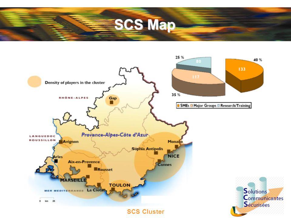 SCS Cluster SCS Map