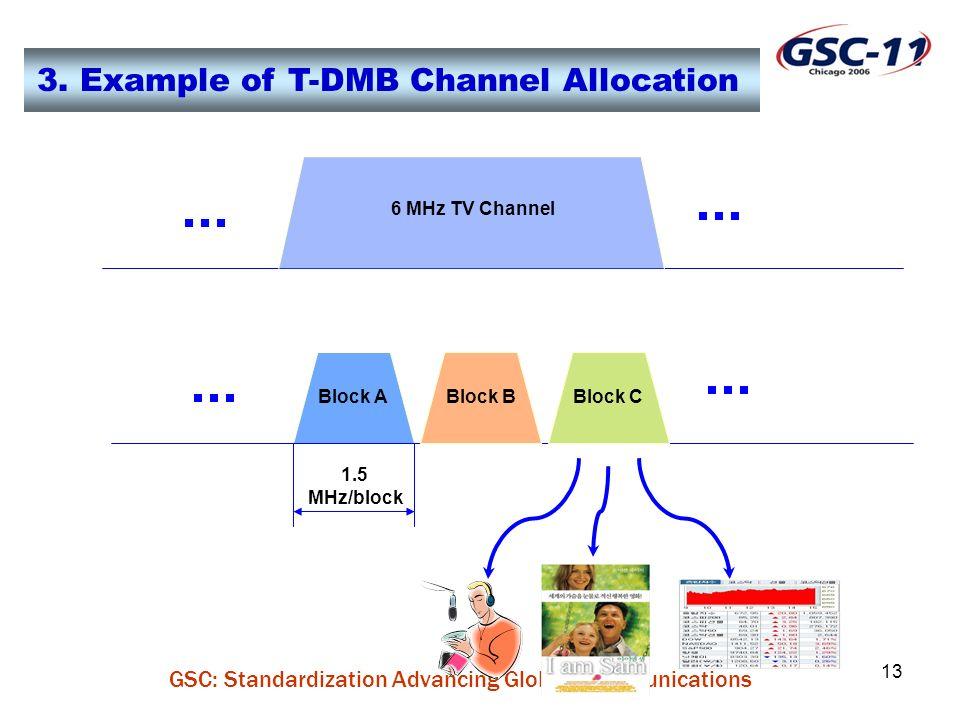 GSC: Standardization Advancing Global Communications 13 3.