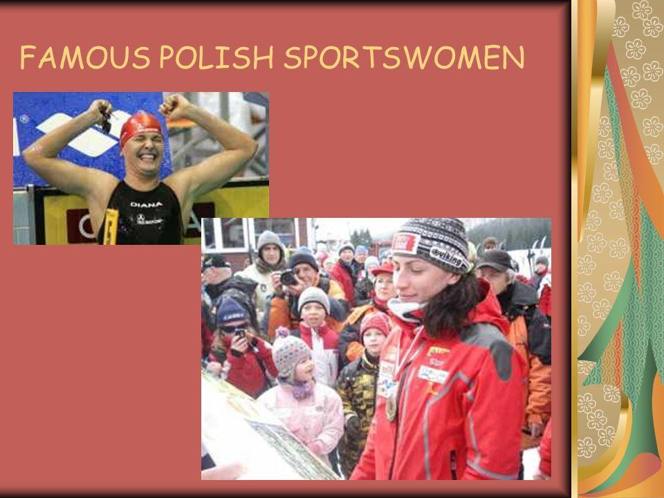THE BEST POLISH SWIMER WINNER OF -11 GOLD MEDALS -9 SILVER MEDALS -6 BRONZE MEDALS OTYLIA JĘDRZEJCZAK