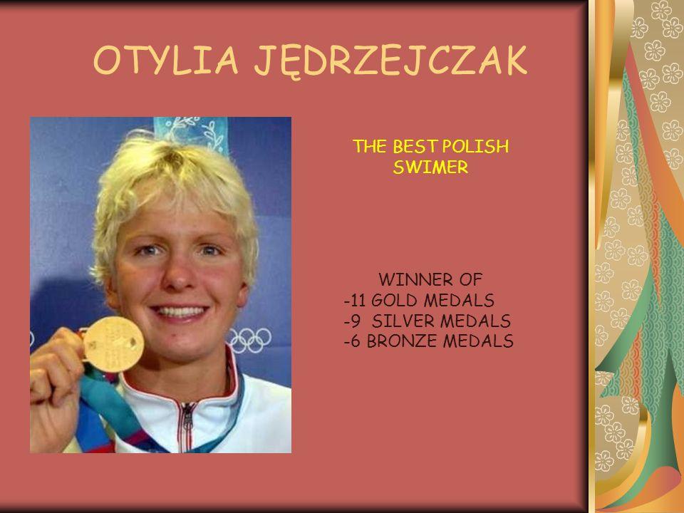 JUSTYNA RUTKOWSKA THE BEST POLISH SKI RUNNER WINNER OF: 2 GOLD MEDALS 2 BRONZE MEDALS in Olimpic games