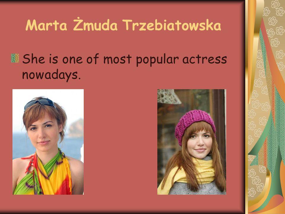 AGNIESZKA DYGANT Next very popular serial actress now in Poland.