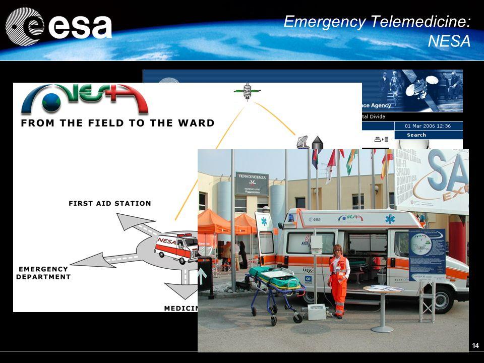 14 Emergency Telemedicine: NESA