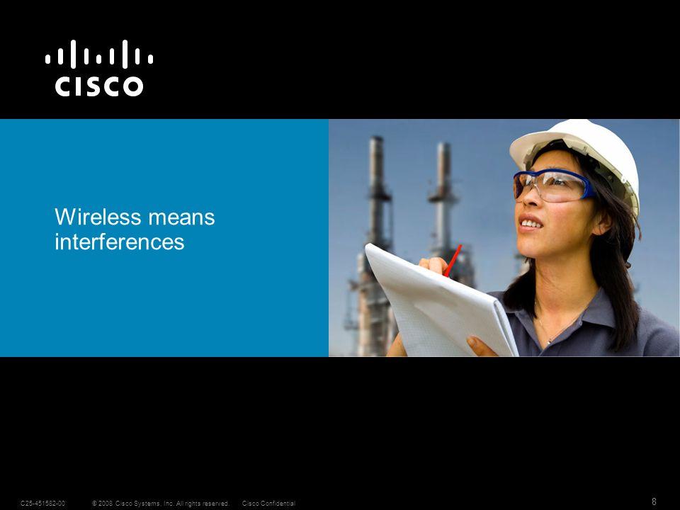 19 © 2008 Cisco Systems, Inc.
