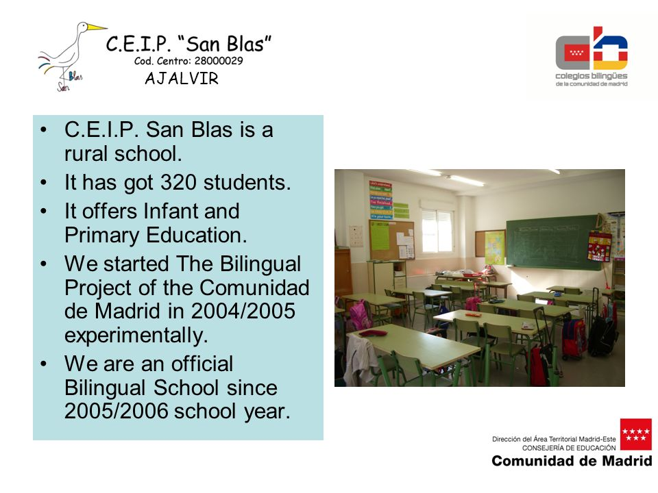 C.E.I.P.San Blas aims to offer a well- rounded quality education.
