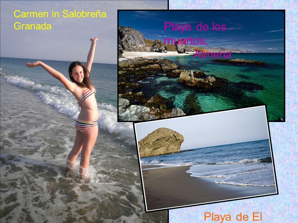 Carmen in Salobreña Granada Playa de los muertos, Almeria Playa de El Monsul