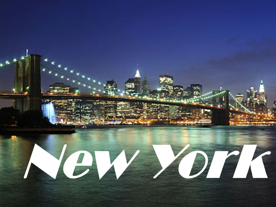 Where in the world is New York?