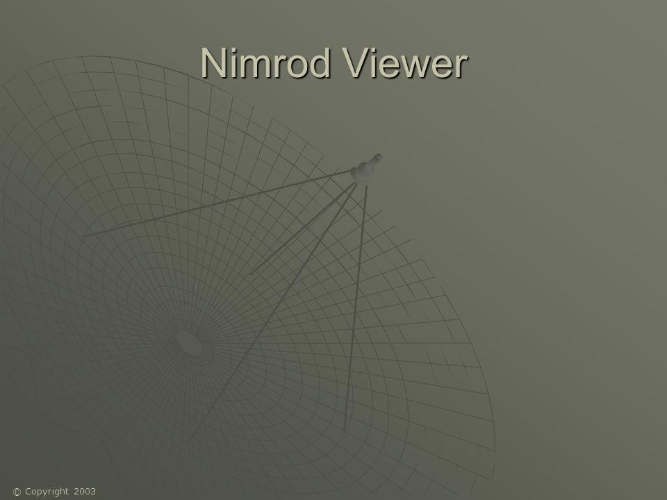 © Copyright 2003 Nimrod Viewer