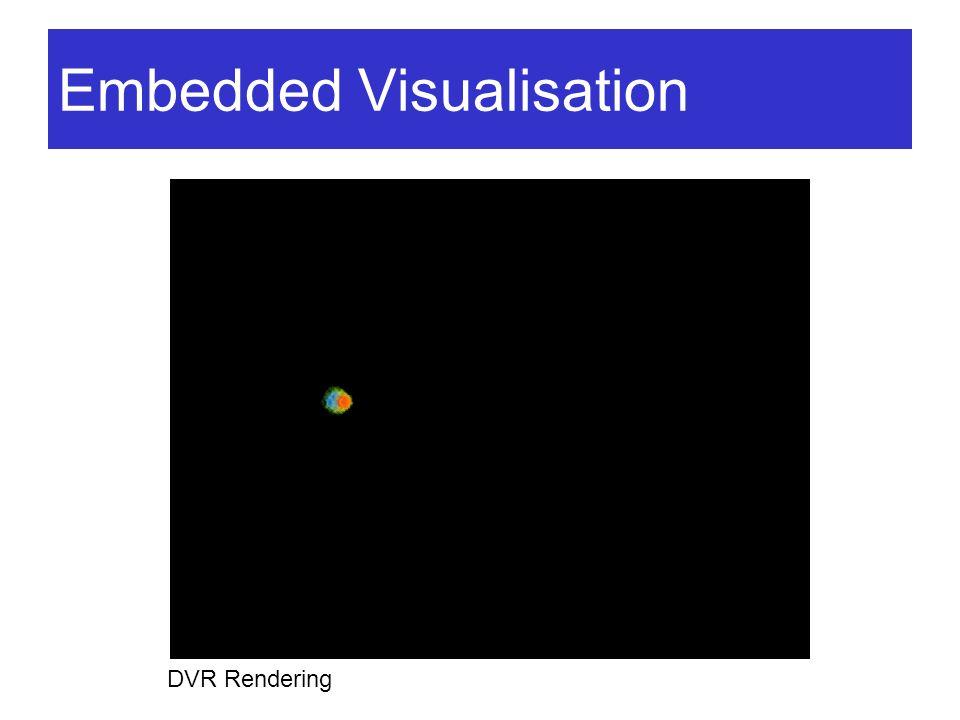 Embedded Visualisation DVR Rendering