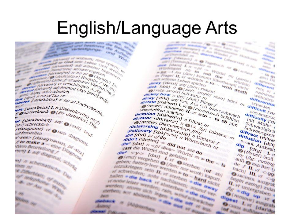 11 English/Language Arts