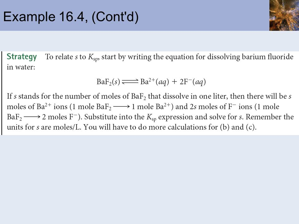 Example 16.4, (Cont'd)