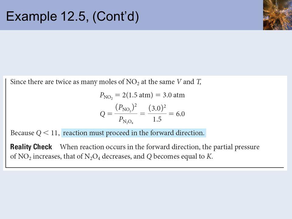 Example 12.5, (Contd)
