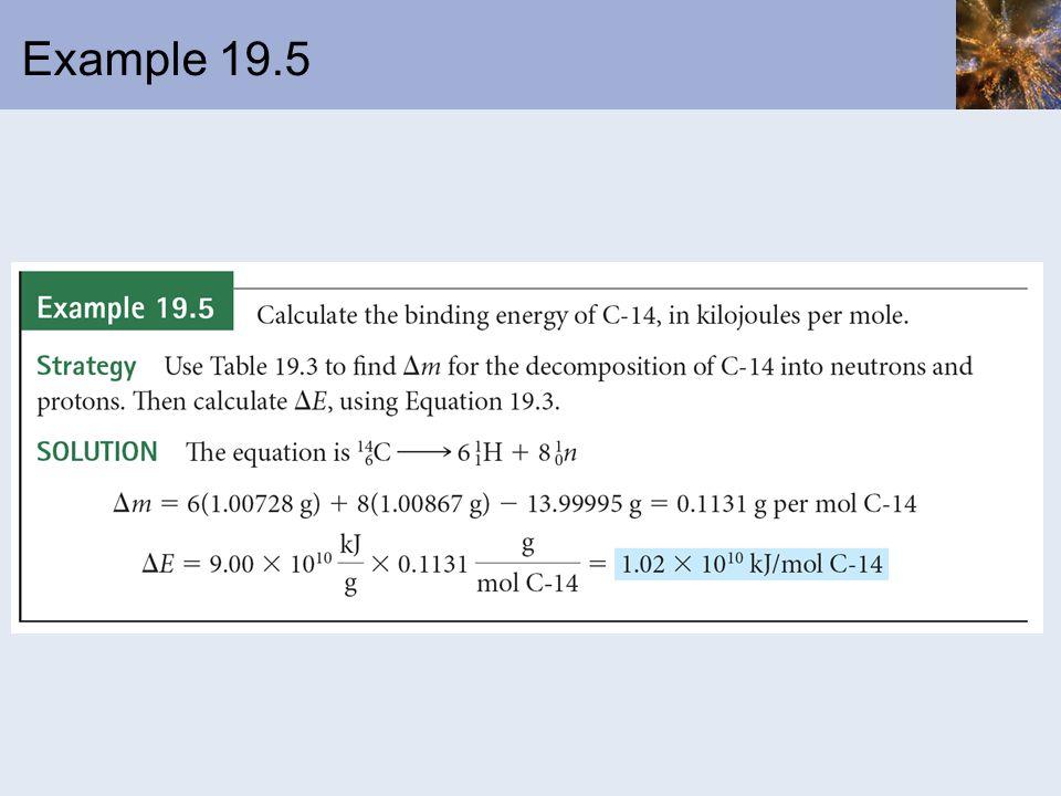 Example 19.5