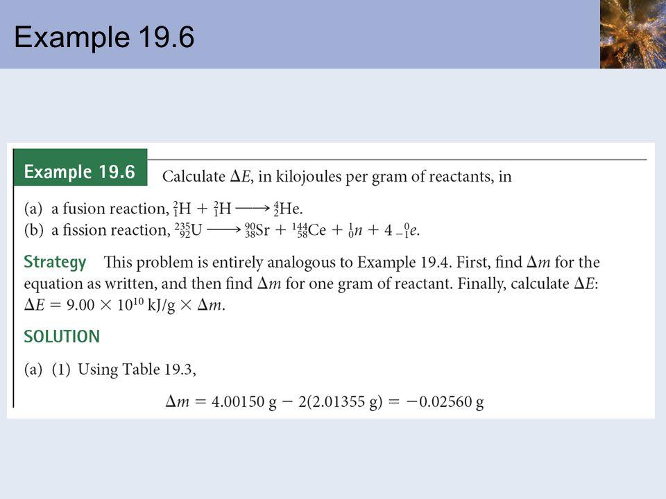 Example 19.6