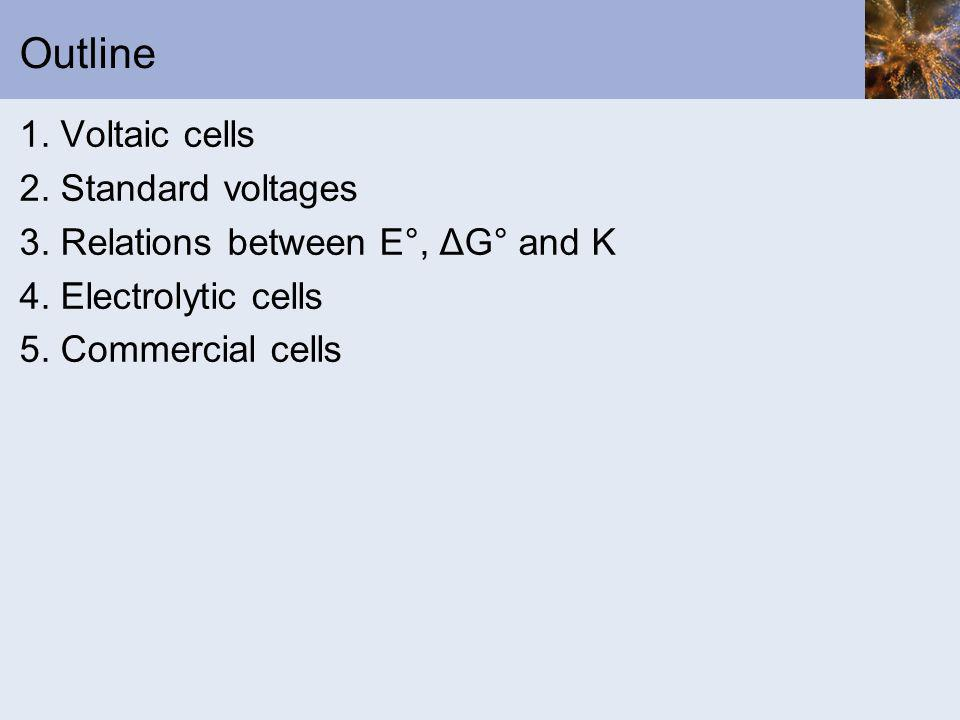 Electrochemistry Electrochemistry is the study of the conversion of electrical and chemical energy The conversion takes place in an electrochemical cell, of which there are two main types Voltaic cells Electrolytic cells
