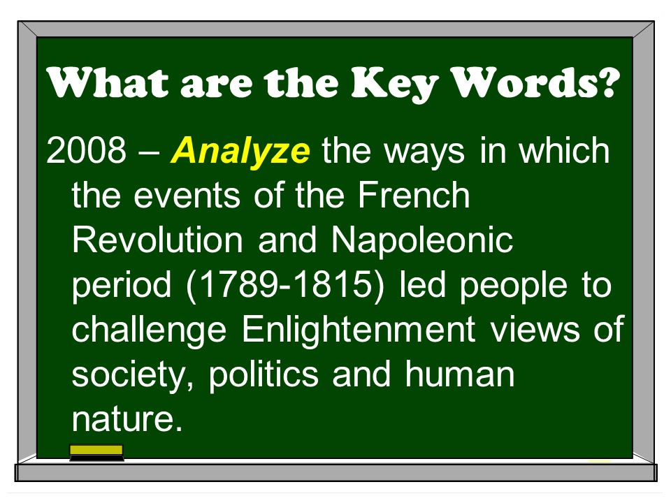 What are the Key Words.