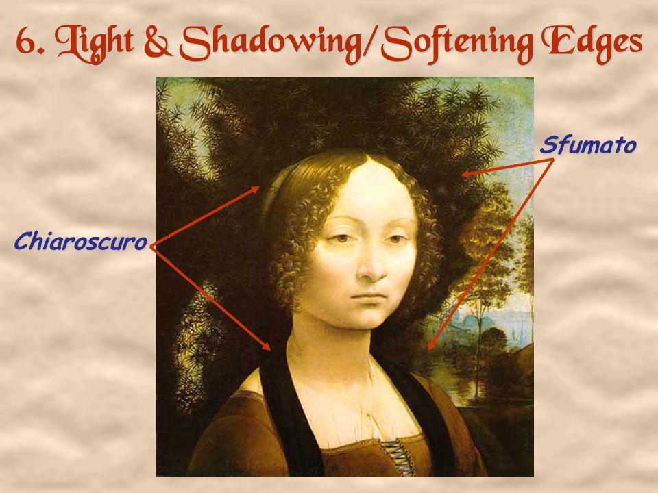 5. Geometrical Arrangement of Figures The Dreyfus Madonna with the Pomegranate Leonardo da Vinci 1469 The figure as architecture