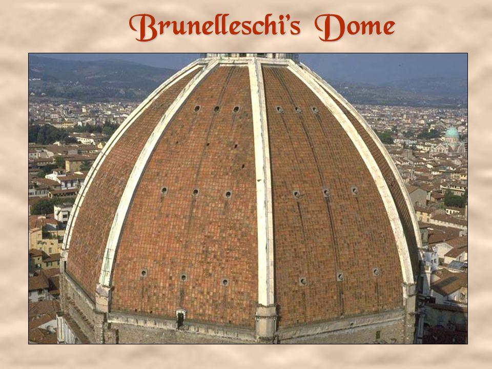 Brunelleschis Secret (fishbone fashion bricks)
