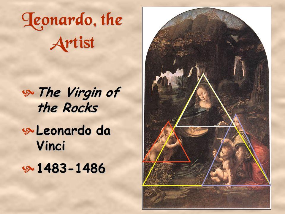1. Self-Portrait -- da Vinci, 1512 1452 - 1519 Artist Sculptor Architect Scientist Engineer Inventor