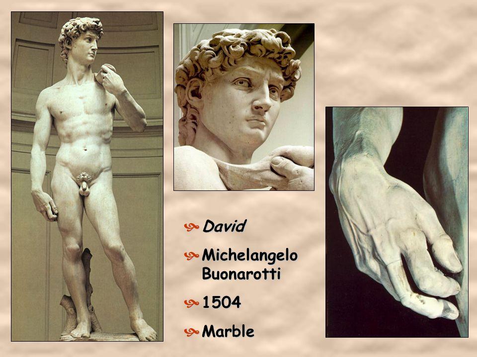 2. Michelangelo Buonorrati 1475 – 1564 He represented the body in three dimensions of sculpture.