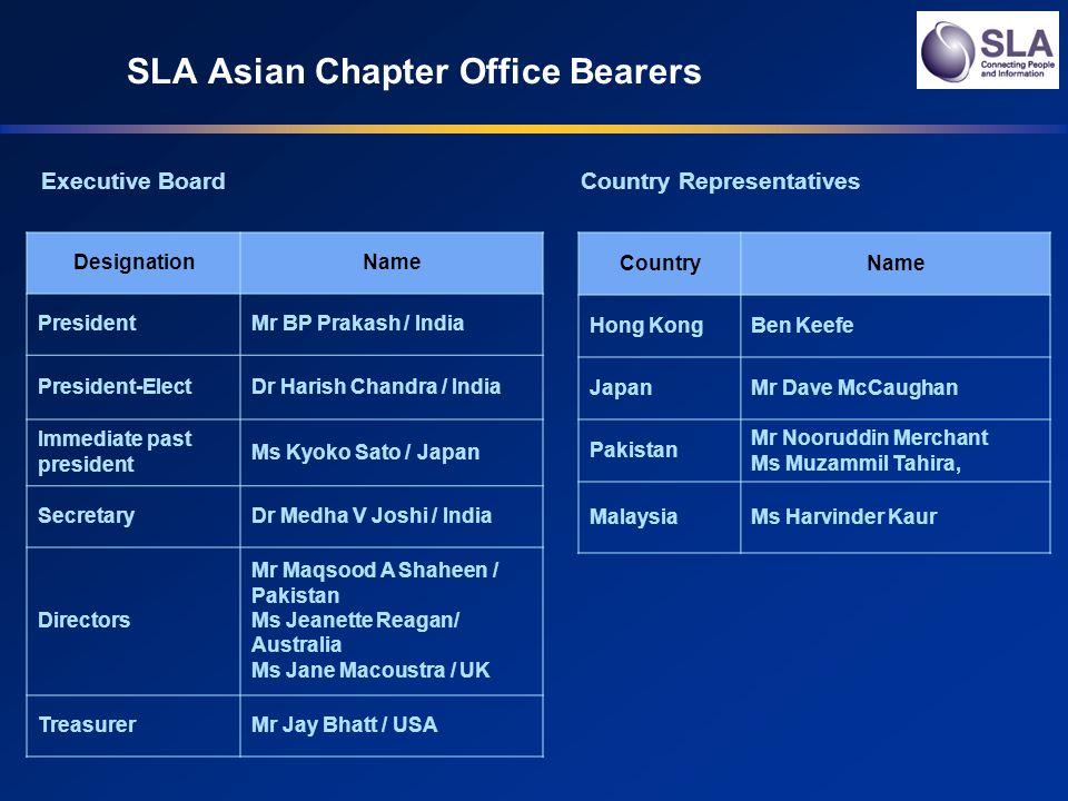 Operational Committee 2011 Operational CommitteesName Nominations Ms Sushma Arora (Chair) / India Ms Kyoko Sato / Japan Mr.
