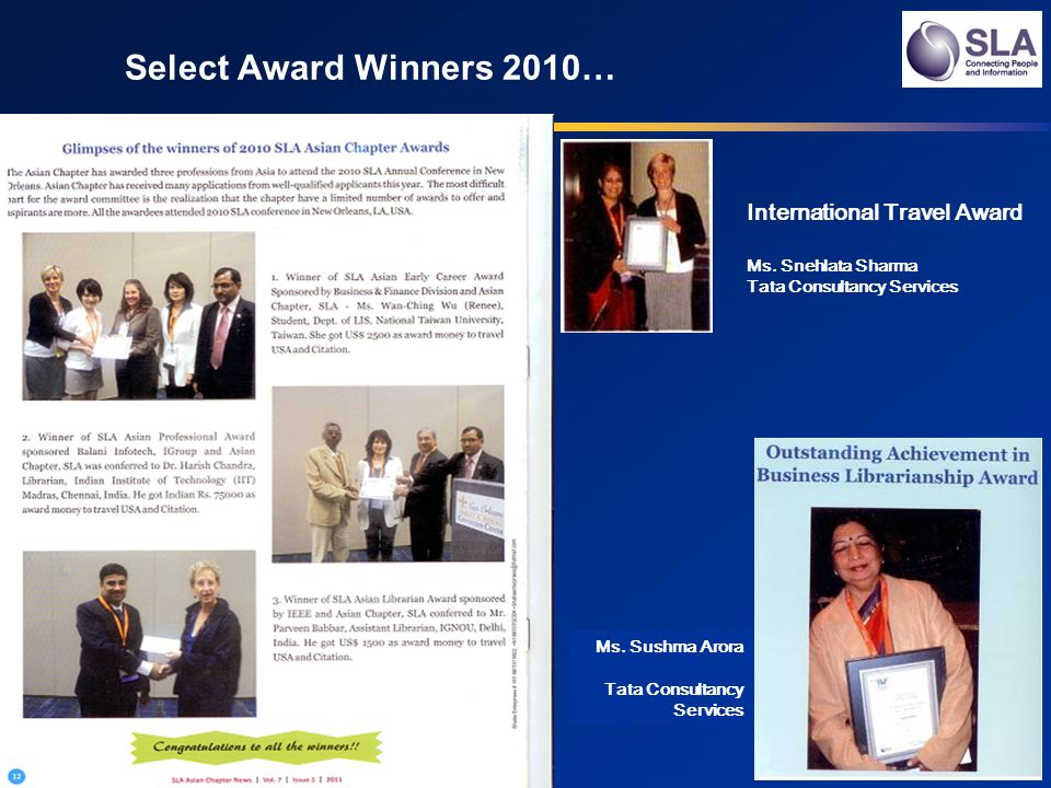Select Award Winners 2010… Ms.