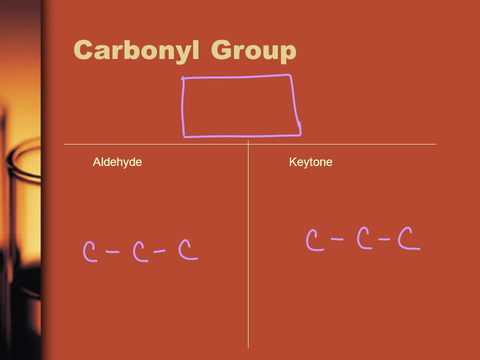 Carbonyl Group AldehydeKeytone