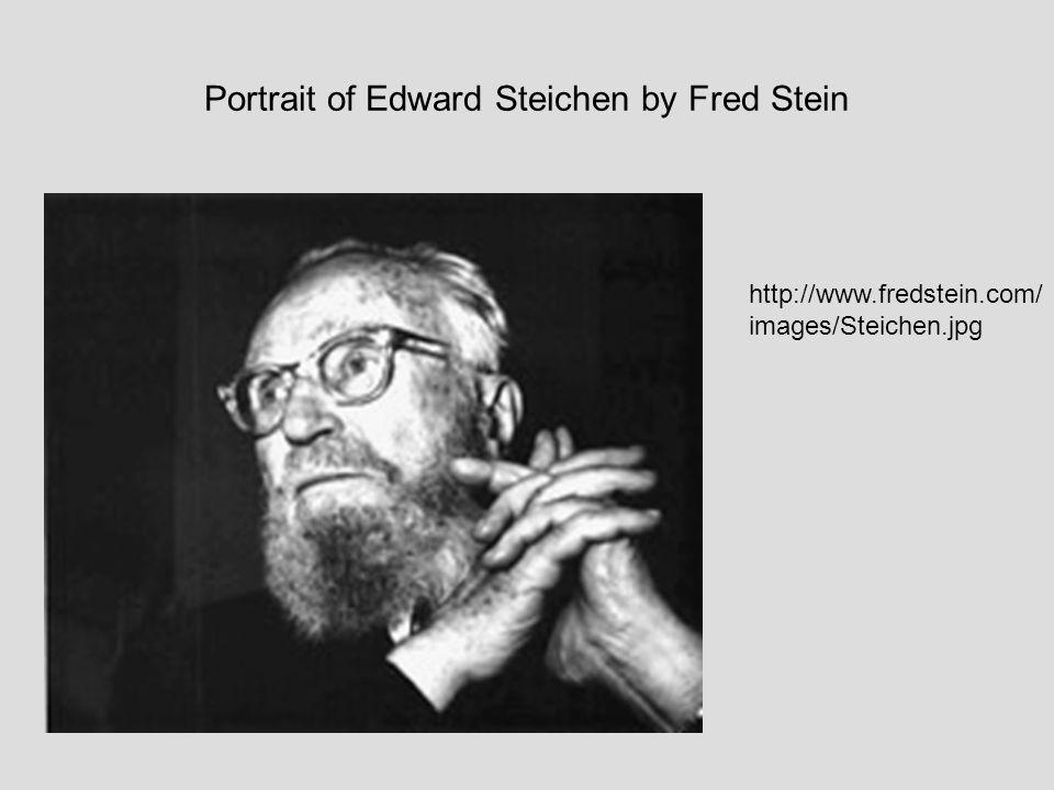 Portrait of Edward Steichen by Fred Stein http://www.fredstein.com/ images/Steichen.jpg