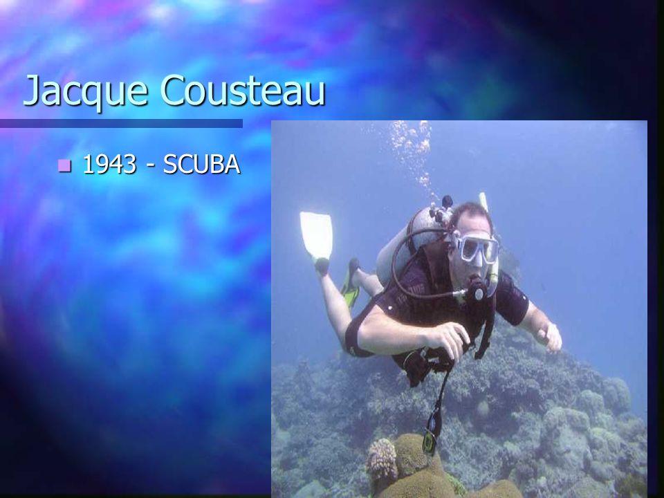 Jacque Cousteau 1943 - SCUBA 1943 - SCUBA