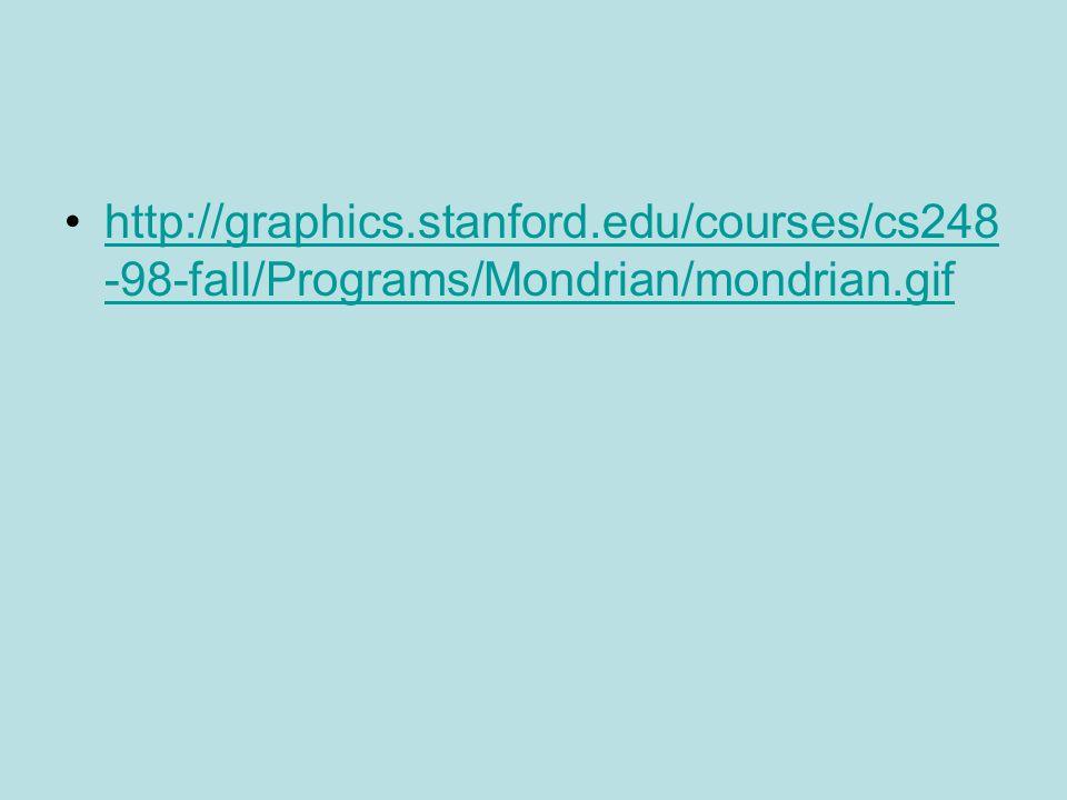 http://graphics.stanford.edu/courses/cs248 -98-fall/Programs/Mondrian/mondrian.gifhttp://graphics.stanford.edu/courses/cs248 -98-fall/Programs/Mondrian/mondrian.gif