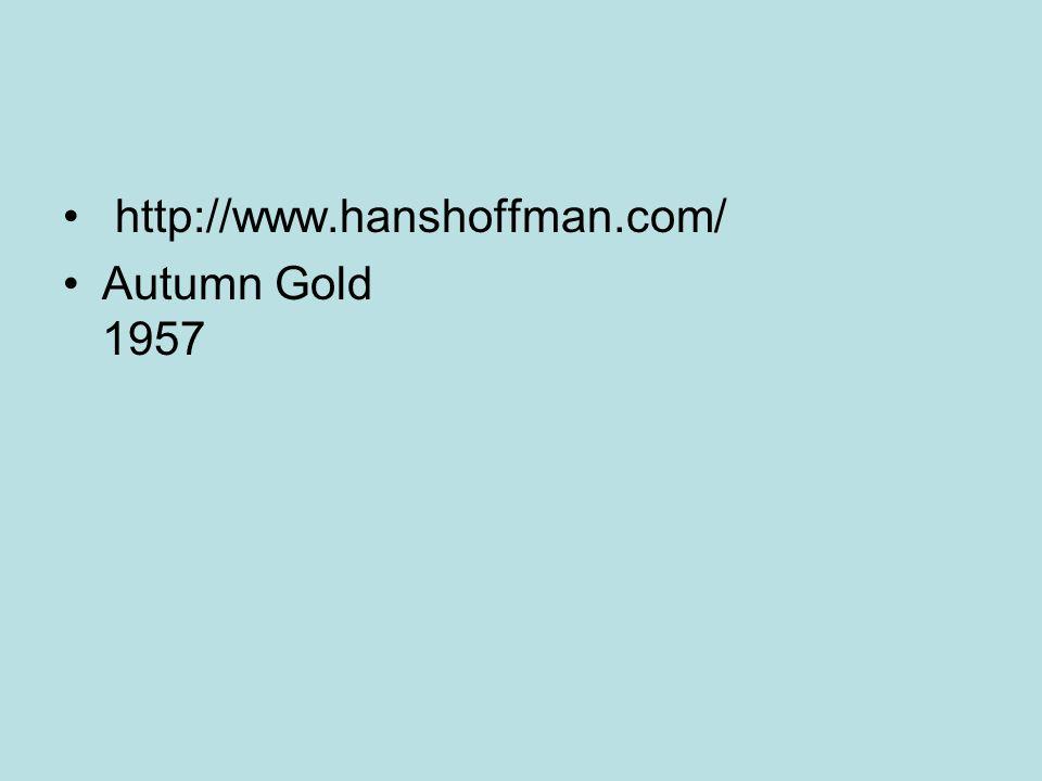 Autumn Gold 1957