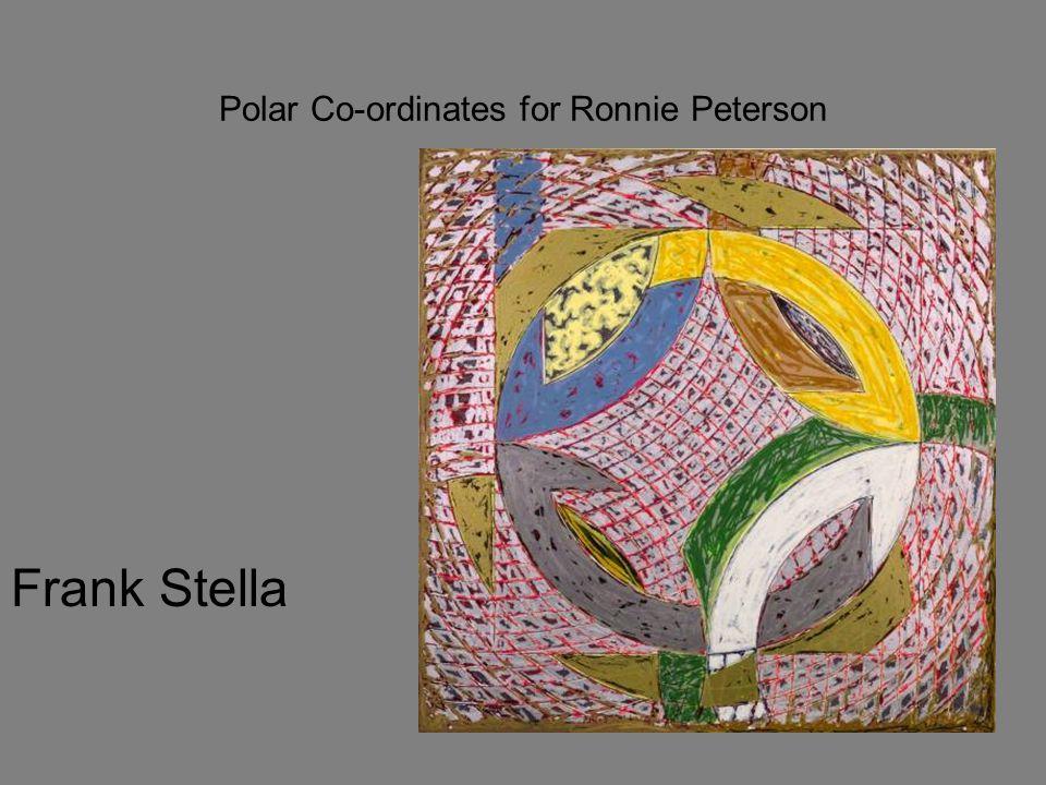 Polar Co-ordinates for Ronnie Peterson Frank Stella