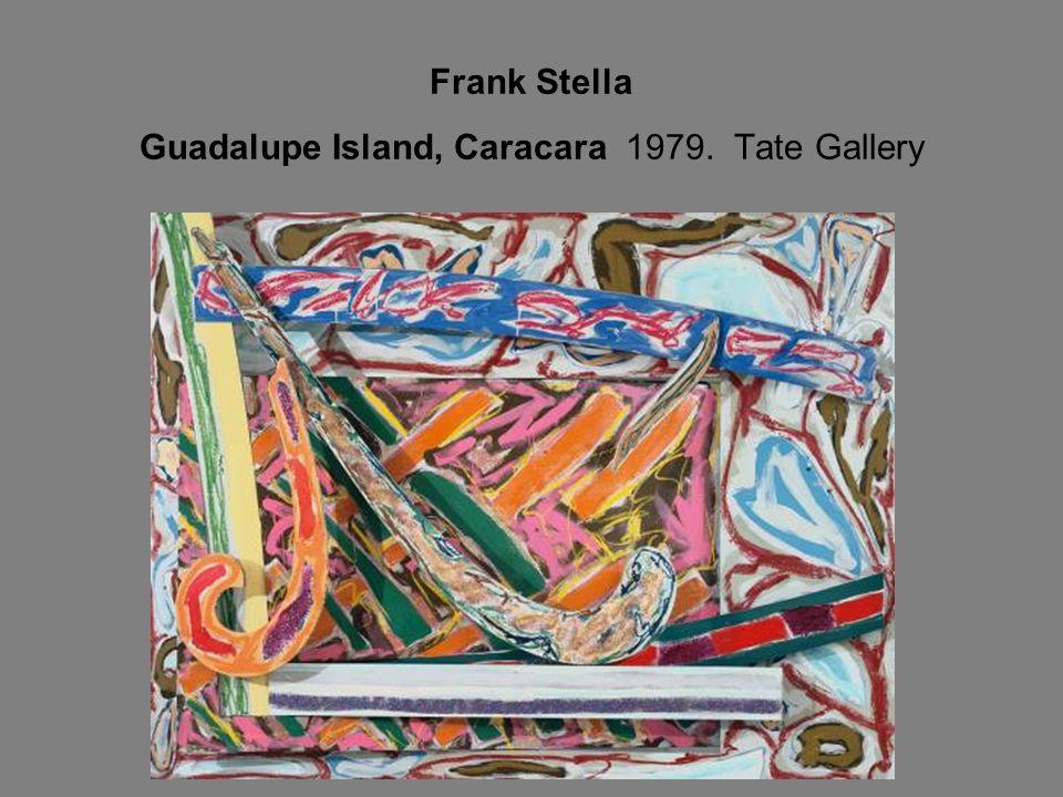 Frank Stella Guadalupe Island, Caracara 1979. Tate Gallery