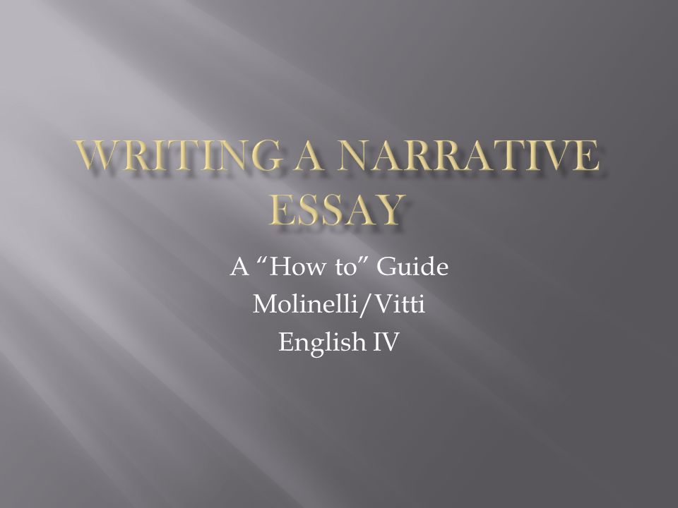 A How to Guide Molinelli/Vitti English IV