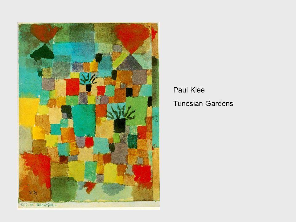 Paul Klee Tunesian Gardens