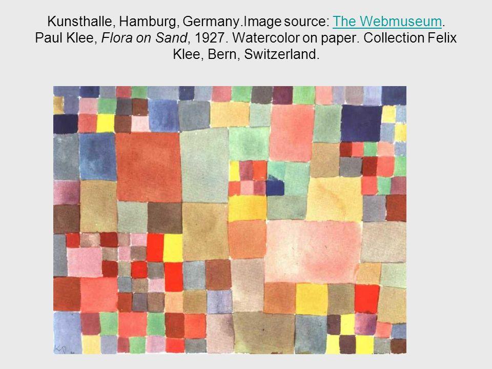 Kunsthalle, Hamburg, Germany.Image source: The Webmuseum.