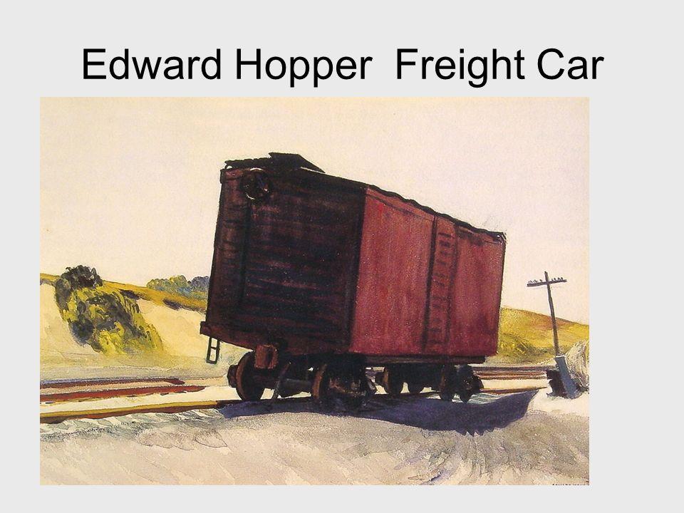 Edward Hopper Freight Car